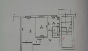 3 комнаты, п. Васильевское, улица Рабочая, д. 3