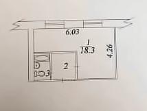 1 комната, Вологда, улица Панкратова, д. 75А